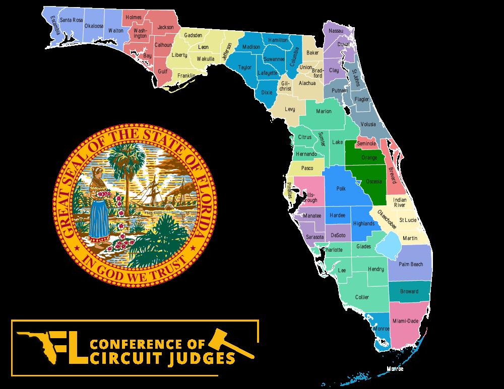 Florida Judicial Circuit Map JUDICIAL RESOURCES – Florida Conference of Circuit Judges